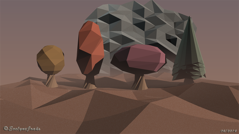 Paysage_Low_poly_3D