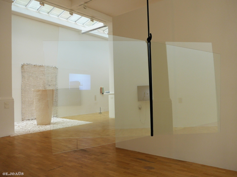 """It's All Good Fun"" - 2012 - Sheet Glass and Rope"