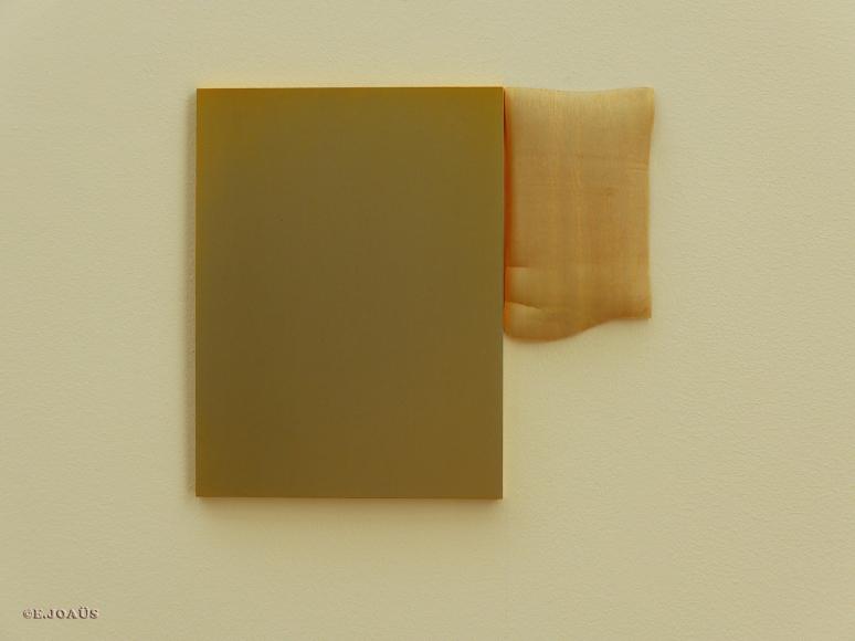 """Nijinksy's Window"" - 2015 - Oil, Acrylic, Aluminium, Porcelain, Oxides"